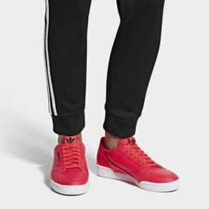 Adidas Continental 80 Rascal Red Sneakers